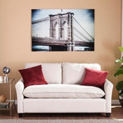 Brooklyn Floating Glass Wall Art found on Bargain Bro India from Sam's Club for $139.88