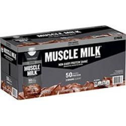 Muscle Milk Pro Series Non-Dairy Protein Shake, Knockout Chocolate, (17 fl. oz, 12 pk.)