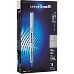 uni-ball Waterproof Vision Roller Ball Stick Pens, Select Color (Fine)