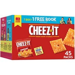 Cheez-It Original Crackers Snack Packs (1.5 oz, 45 ct.)