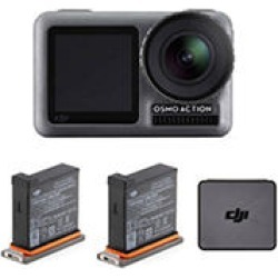 DJI Osmo Action Camera with 2-Piece Battery