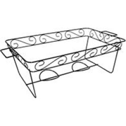 Decorative Wire Chafing Rack - Black - 12 pk. found on Bargain Bro Philippines from Sam's Club for $51.92