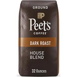Peet's Coffee Ground Coffee, House Blend (32 oz.)