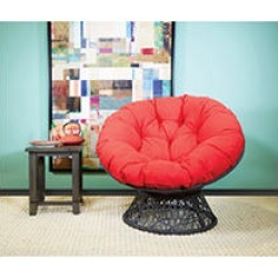 OSP Designs, Papasan Chair - Red