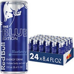 Red Bull Energy Drink, Blue Edition (8.4 fl. oz, 24 ct.)