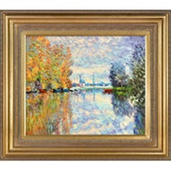 Claude Monet Autumn on the Seine at Argenteuil Hand Painted Oil Reproduction found on Bargain Bro India from Sam's Club for $229.88