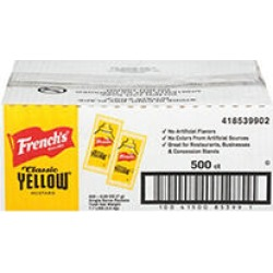 French's Mustard Packets (5.5 g, 500 ct.)