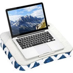 LapGear Designer Lap Desk, Navy Ikat found on Bargain Bro India from Sam's Club for $29.98