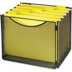 "Safco® Onyx"" Desktop Open File Box"