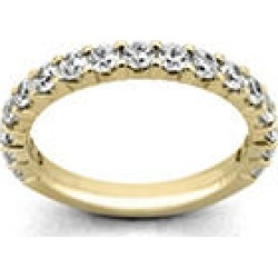 .25 ct. t.w. 14 KARAT YELLOW GOLD 17-Stone Shared Prong Dia Band Sz 6 (H-I, I1) found on Bargain Bro Philippines from Sam's Club for $429.00