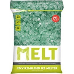 MELT 25 Lb. Resealable Bag Premium Enviro-Blend Ice Melter w/ CMA - MELT25EB found on Bargain Bro Philippines from Sam's Club for $9.27