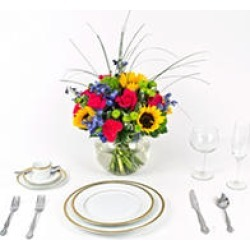 Wedding Collection Sunflower Bright, Centerpieces (6 pieces) found on Bargain Bro India from Sam's Club for $332.00