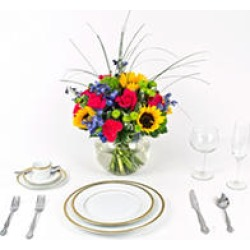 Wedding Collection Sunflower Bright, Centerpieces (6 pieces) found on Bargain Bro Philippines from Sam's Club for $332.00