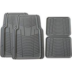 BEST BUY Member's Mark All Weather Automotive Floor Mats (Grey)