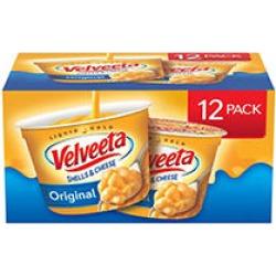Velveeta Shells and Cheese (2.39 oz, 12 ct.)