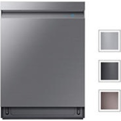 SAMSUNG Top Control 39-Decicel Built-In Dishwasher with AquaBlast™, Stainless Steel - DW80R9950US