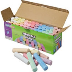 Jumbo Sidewalk Chalk - 52 pcs/Container found on Bargain Bro India from Sam's Club for $7.98