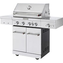 KitchenAid 4 Burner, Ceramic Searing Side Burner, Rotisserie Burner in Stainless Steel found on Bargain Bro Philippines from Sam's Club for $699.00