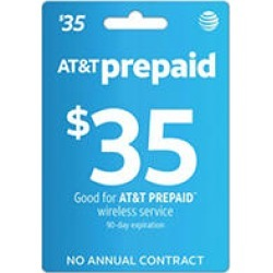 AT & T Refill eGift Card - $35 (Email Delivery) found on Bargain Bro India from Sam's Club for $34.28