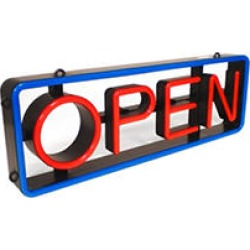 LED Swivel Open Sign