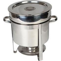 Stainless Steel Marmite Chafer - 11 qt. found on Bargain Bro India from Sam's Club for $57.88