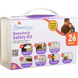 Dreambaby Household Safety Kit, 26 pieces