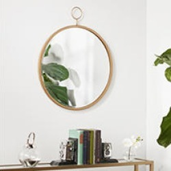 Lilac Wall Mirror Antique Bronze found on Bargain Bro India from Sam's Club for $69.88
