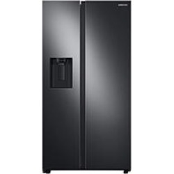 Samsung 27.4 cu. ft. Large Capacity Side by Side Refrigerator - Black Stainless Steel