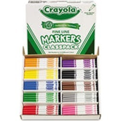Crayola Classpack Fine Line Markers, 200ct. found on Bargain Bro India from Sam's Club for $67.48