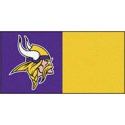 NFL - Minnesota Vikings Team Carpet Tiles