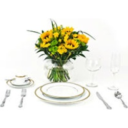 Wedding Collection Country Sunflower, Centerpieces (6 pieces) found on Bargain Bro India from Sam's Club for $286.98
