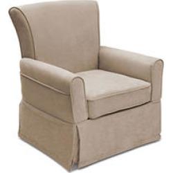 Delta Children Benbridge Nursery Glider Swivel Rocker Chair, Beige
