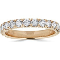 0.25 CT. T.W. 14-Stone Diamond Band Ring in (HI, I1) Yellow Gold 8.5 found on Bargain Bro India from Sam's Club for $299.00