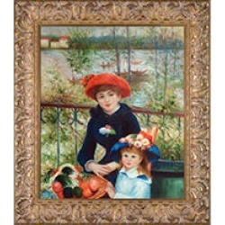 Pierre-Auguste Renoir Two Sisters (On the Terrace) Hand Painted Oil Reproduction found on Bargain Bro India from Sam's Club for $229.88