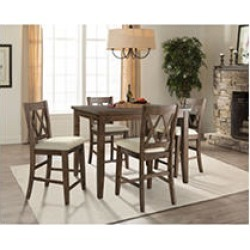 Oliver Counter-Height Dining Set, 5pc