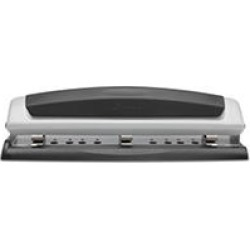 Swingline - 10-Sheet Precision Pro Desktop Two- and Three-Hole Punch - 9/32