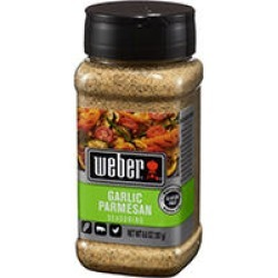 Weber Garlic Parmesan Seasoning (6.6 oz.) found on Bargain Bro India from Sam's Club for $3.98