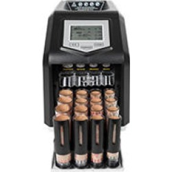 Royal Sovereign Digital 4 Row Electric Coin Sorter, Holds Up To 800 Coins found on Bargain Bro from Sam's Club for USD $68.29