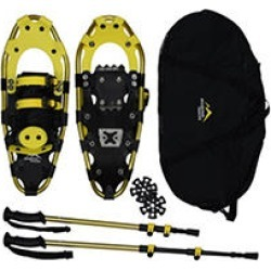 Mountain Tracks Pro Series 20.5 inch Snowshoe Set - Yellow found on Bargain Bro India from Sam's Club for $119.98