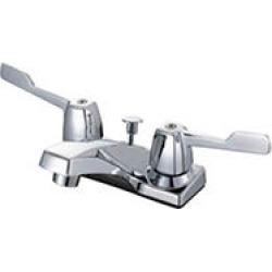 Hardware House 2 Handle Bathroom Faucet w/ Chrome Finish