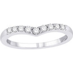 .25 ct. t.w. Diamond Enhancer Ring White Gold (H-I, I1) size 9 found on Bargain Bro Philippines from Sam's Club for $379.00