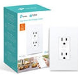 TP-Link KP200 Kasa Smart Wi-Fi In-Wall Power Outlet found on Bargain Bro India from Sam's Club for $39.98