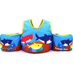 Body Glove Kids Paddle Pals Type V PFD (Child 30 - 50 lbs) - U.S. Coast Guard Approved PFD - Shark found on Bargain Bro from Sam's Club for USD $11.38