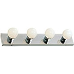 Hardware House 4-Light Bath/Wall Strip - Chrome found on Bargain Bro India from Sam's Club for $15.98