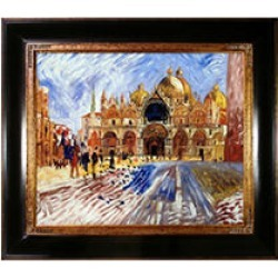 Pierre-Auguste Renoir The Piazza San Marco Venice Hand Painted Oil Reproduction found on Bargain Bro from Sam's Club for USD $189.91
