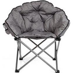 Cozy Club Chair - Gray
