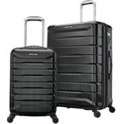 Samsonite Astute NXT 2-Piece Hardside Set, Black