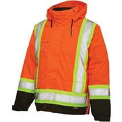 Work King 5-in-1 Thermal Jacket FL. ORANGE2X