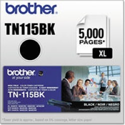 Brother TN115 Series Toner Cartridge, Black found on Bargain Bro India from Sam's Club for $94.98