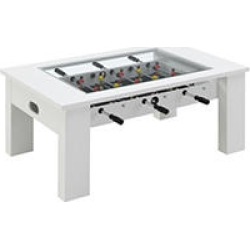 Society Den Rebel Foosball Gaming Table, White found on Bargain Bro from Sam's Club for USD $265.24